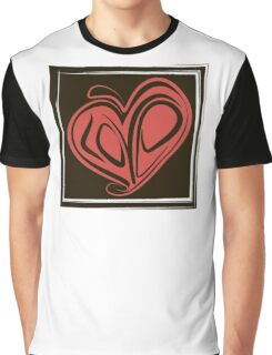 Love typography Graphic T-Shirt