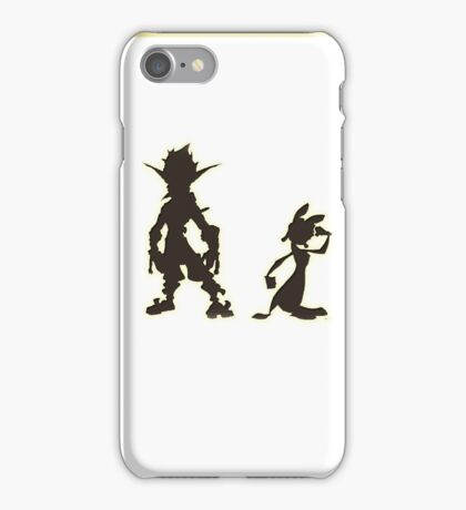 Jak and Daxter: The Precursor Legacy Silhouette iPhone Case/Skin