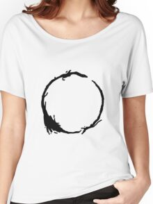 Arrival Movie Circle Language 4 Women's Relaxed Fit T-Shirt