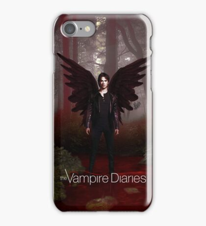 The Vampire Diaries - Damon Salvatore  iPhone Case/Skin