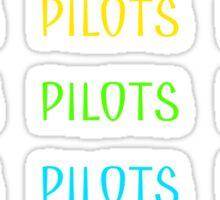 Twenty One Pilots (literally) Sticker