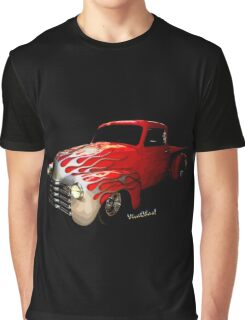 Flaming Chevy Pickup T-Shirt! Graphic T-Shirt