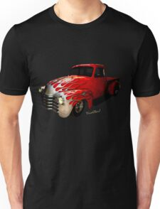 Flaming Chevy Pickup T-Shirt! Unisex T-Shirt