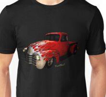Flaming Chevy Pickup T-Shirt! Unisex T-Shirt
