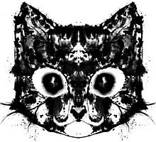 Rorschach Kitty by PurpLexArt
