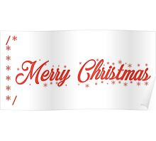 Merry Christmas comment Poster
