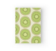 Simple Kiwi Pattern Hardcover Journal