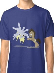 Derpy and Doctor Whooves Classic T-Shirt