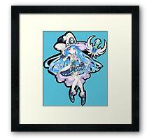 Cute Anime Magic Girl Framed Print