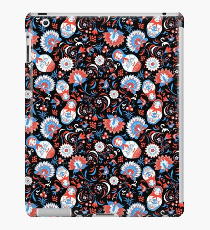 Vibrant Russian ornaments iPad Case/Skin