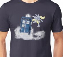 Derpy Tardis Delivery Unisex T-Shirt