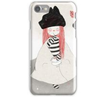 Spectacled bear visits iPhone Case/Skin