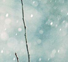 The sound of winter Sticker
