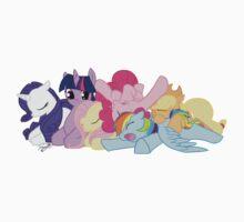 Sleepy Ponies Kids Tee