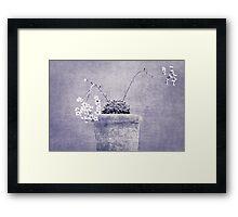 Flowers Framed Print