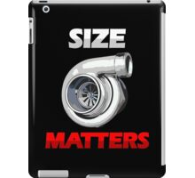 SIZE MATTERS (1) iPad Case/Skin
