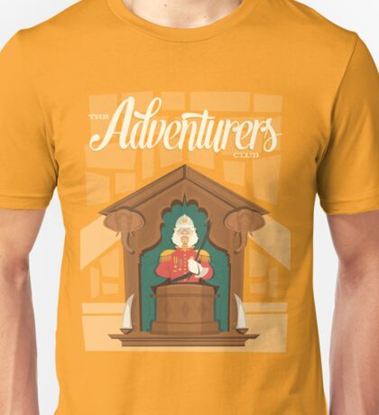 The Adventurer's Club - Colonel Critchlow Suchbench Unisex T-Shirt
