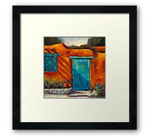 Adobe Charm by Chris Brandley Framed Print