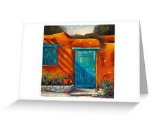Adobe Charm by Chris Brandley Greeting Card