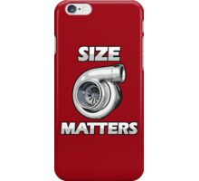SIZE MATTERS (3) iPhone Case/Skin