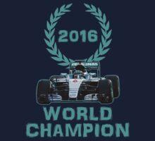 Rosberg 2016 World Champion F1 Formula 1 Kids Tee
