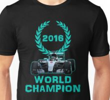 Rosberg 2016 World Champion F1 Formula 1 Unisex T-Shirt