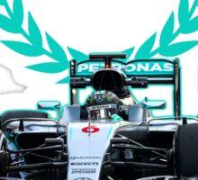 Rosberg 2016 World Champion F1 Formula 1 Sticker