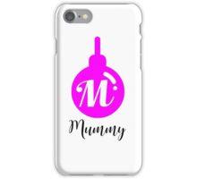 Personalised Bauble Mummy iPhone Case/Skin