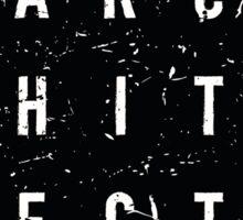 A R C H I T E C T 2 Sticker