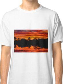 Red Skies at Night Classic T-Shirt