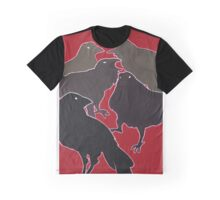 A Murder (Of Crows) Graphic T-Shirt