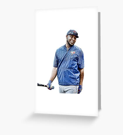 Edwin encarnacion blue jays Greeting Card