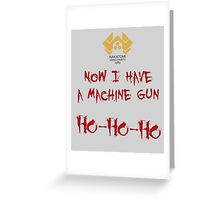 A Nakatomi Party Greeting Card