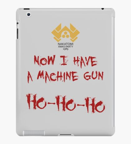 A Nakatomi Party iPad Case/Skin