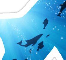 Deep Ocean Shark Sticker
