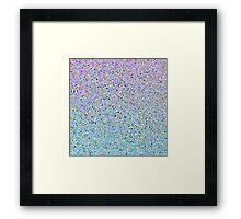 Sprinkled Colors Framed Print