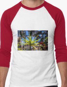 Spike Plant - Nature Photography  Men's Baseball ¾ T-Shirt