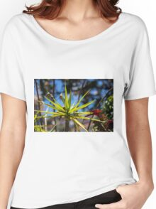 Spike Plant - Nature Photography  Women's Relaxed Fit T-Shirt