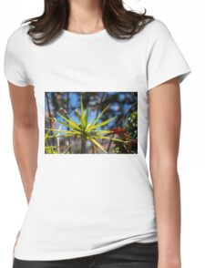 Spike Plant - Nature Photography  Womens Fitted T-Shirt