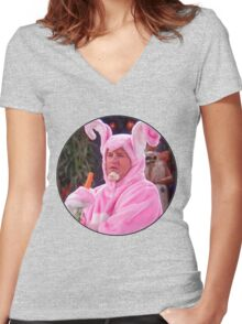 Chandler Bing Women's Fitted V-Neck T-Shirt
