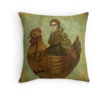 The Traveling Companion Throw Pillow