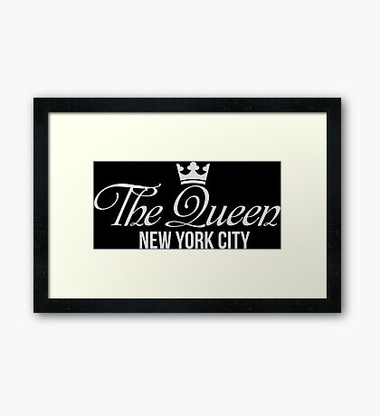 The Queen New York City Framed Print