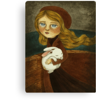 The Expedition - Journey for a Rabbit Friend Canvas Print