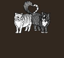Cats in Love Womens Fitted T-Shirt