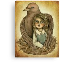 Silent Nurturing Canvas Print