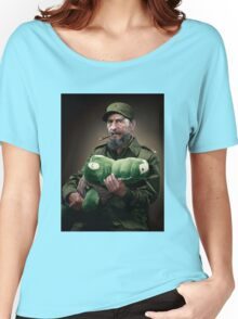 Fidel Castro The Hero of Cuba Women's Relaxed Fit T-Shirt