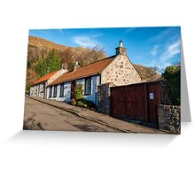 Cottages in Central Scotland Greeting Card