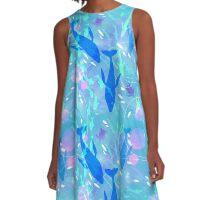 whales A-Line Dress