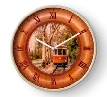 044 Wall Clock Sintra Portuguese beach of the apples tram Clock