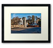 Dollar Town in Scotland Framed Print